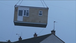 The first purpose built care pod to be installed in Cumbria