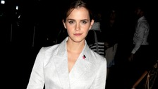 Emma Watson attends the HeForShe campaign launch at the United Nations in New York.