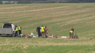 Bedfordshire air crash: Police name dead pilot