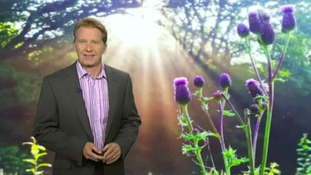 Wednesday afternoon's weather with Simon Parkin