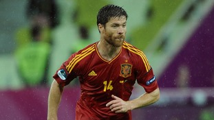 Real Madrid midfielder Xabi Alonso looking forward to the quarter-finals.