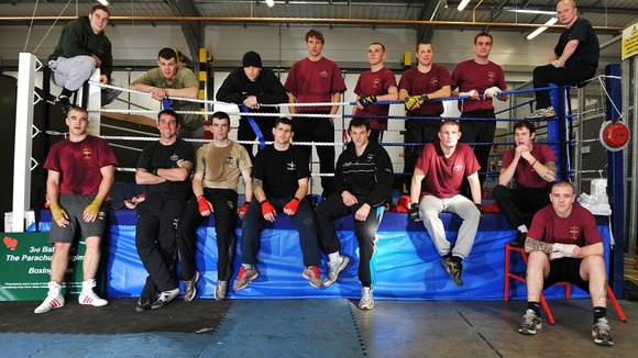 The 3 Para boxing team