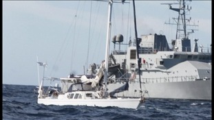 Cargo yacht the Makayabella was stormed by the Irish Navy 200 nautical miles off Mizen Head