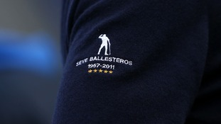 Europe's Ryder Cup team pay tribute to Seve Ballesteros