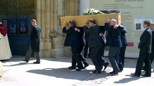 John Brain funeral