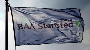 Stansted Airport flag