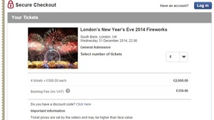 Seatwave.com have tickets for sale for £500 each
