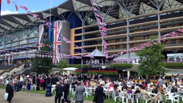 Grandstand at Ascot