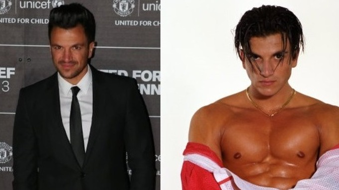 Peter andre i built a rod for my own back with mysterious girl peter andre pictured last year left and in his 1996 heyday as a pop m4hsunfo