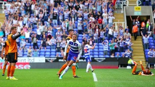 Hector celebrates goal