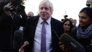 Boris Johnson will give a speech at the Conservative Party Conference on Tuesday