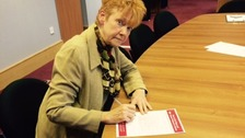 Northumbria's Police and Crime Commissioner Vera Baird