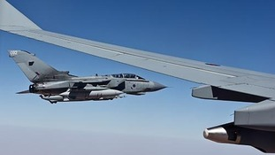 Royal Air Force Tornado GR4 aircraft have been flying over Iraq.