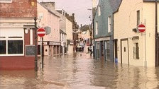23 areas in Dumfries and Galloway are 'at risk' of flooding says the council.