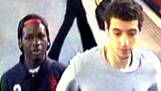 CCTV image of two men.