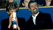 Diana with George Michael in 1994.