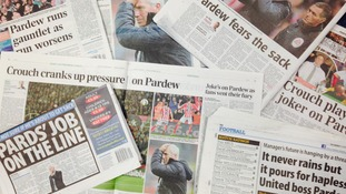 Hitting the headlines - Alan Pardew
