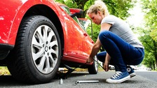 Tyres without the required tread depth are illegal