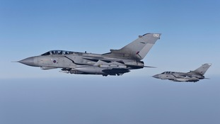 RAF launches first air strikes on Islamic State targets in Iraq