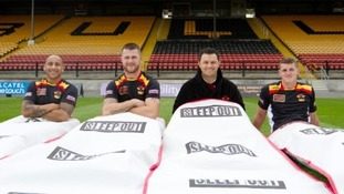 Bradford Bulls stars plan to sleep out for charity