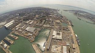 Defence contract worth £600m secures 2,000 jobs at Portsmouth Naval base