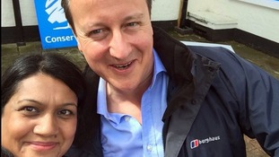 Another selfie with David Cameron