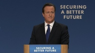 PM makes tax pledge in conference speech