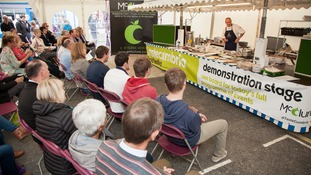 The event featured a pop-up restaurant with Michelin-starred chef Simon Rogan, beer festival, a   giant producers' market, hot food court, chefs' demonstrations and Cumbria Life master classes   and family activities,