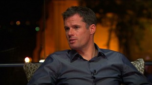ITV pundit Jamie Carragher