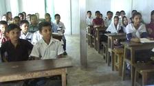 Children at the school in Badeshore