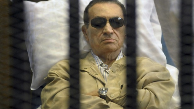 Egypt's former President seen earlier this month in court in Cairo