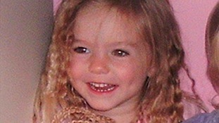 Three-year-old Madeleine McCann went missing while on holiday in Portugal.