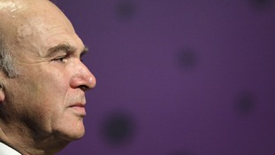 The Business Secretary, Vince Cable