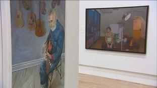 The BP Portrait Award begins a six-week run at the Sunderland Museum