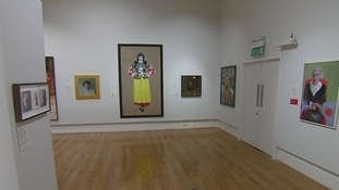 The portraits at Sunderland Museum