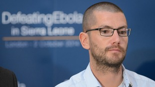 Ebola survivor William Pooley