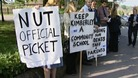 Previous picket lines at The Kimberley School