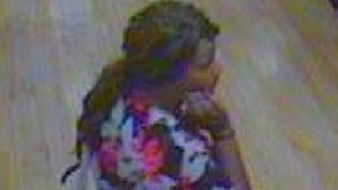 CCTV image of missing Bradford mother Rowena Gartland