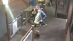 A second CCTV image of the suspect.