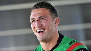 Final game: Sam Burgess is set to switch codes after the NRL Grand Final