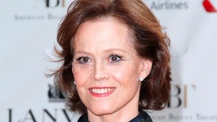 Sigourney Weaver who will feature in new film being shot in Colne Valley