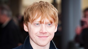 Harry Potter actor Rupert Grint.