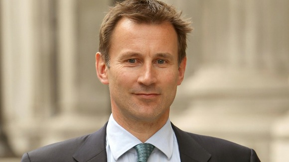 Jeremy Hunt England Euro 2012
