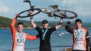 The Powered by Gas team won the Run Bike Run event.