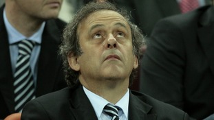 Michel Platini Uefa Goal-line technology