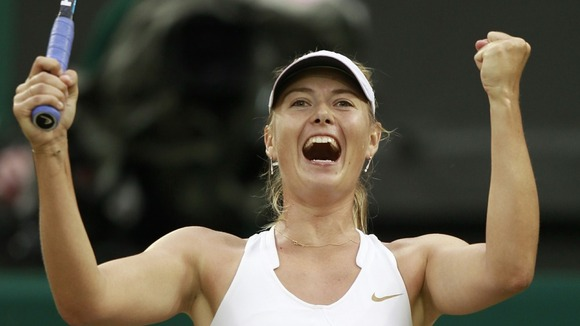 Wimbledon Maria Sharapova