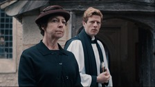 Tessa Peake-Jones and James Norton.