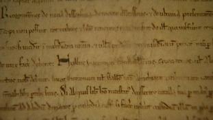 Magna Carta manuscript
