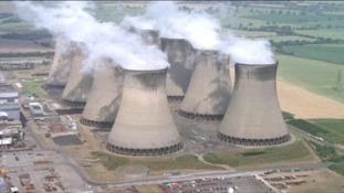 Eggborough power station near Goole