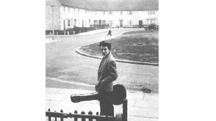 George Harrison at Upton Green.